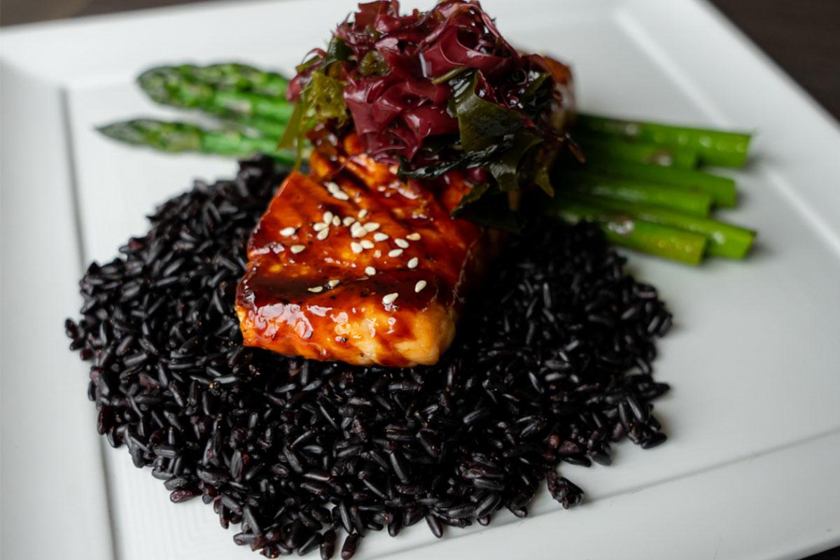 salmon-dish