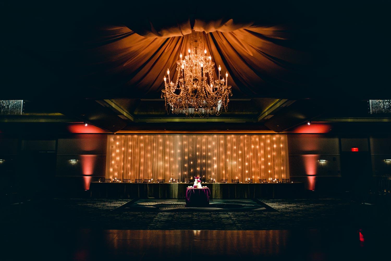 Fleur de Lis Ballroom Setup
