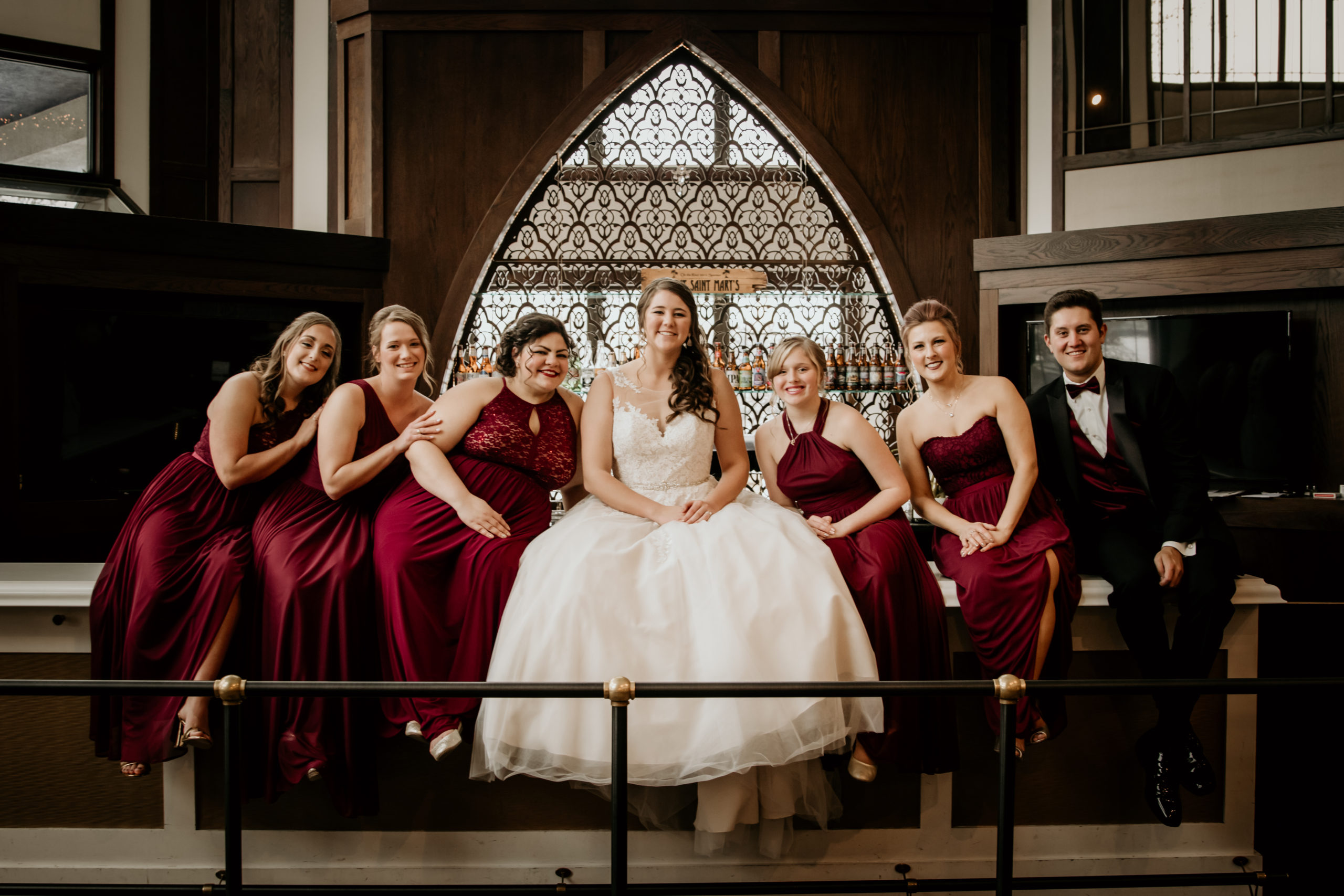 bridal-party-cathedral